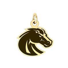 Boise State Broncos 14k Yellow Gold Cut Out Logo College Charm  #Boise #Broncos #Charm #College #Gold #Logo #State #Yellow boisestategear.com