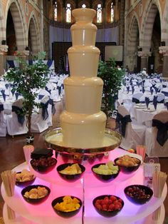 Coco Falls | Chocolate Fountain Nottingham/Chocolate Fountain Hire Derby/Fondue Fountain/Wedding Chocolate Fountain/White Chocolate Fountain/Chocolate Fountains/Event Chocolate Fountain Hire  Come and see Steve at Whoop Events wedding fairs (www.whoopevents.com)