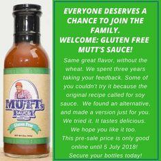 Soy Sauce, Distilled White Vinegar, Tomato Paste, Mustard Seed, Corn Syrup, Garlic Powder, Original Recipe, Dressings