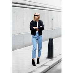 My Look: Shoes - Henry Kole T Shirt - Daisy Street Bomber Jacket - Calvin Klein Jeans - Topshop