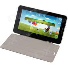 "F825 7.0"" Dual-Core Android 4.2 Phone Tablet PC w/ 1GB RAM, 4GB ROM, Wi-Fi, Bluetooth - White Price: $96.97"