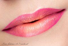 Makijaż: Duochromatyczne usta na lato - SNOBKA  two colours lips