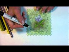 Love this tutorial for using colored pencils!