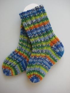 hand knit wool baby socks 03 months by sockysocks on Etsy, £6.00