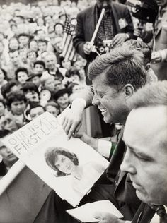 K is for Kennedy | Signed by JFK