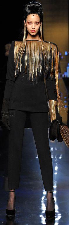 Jean Paul Gaultier Fall-winter   #highfashion #inspiration #moderndesign luxury design, luxury, fashion. Visit www.memoir.pt