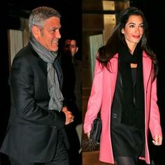 George Clooney Steps Out With Gal-Pal Amal Alamuddin in NYC | Celebrity Latest News