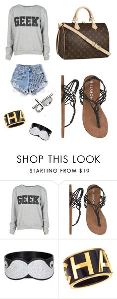 """Afternoon Stroll"" by gabbyjusoy ❤ liked on Polyvore featuring Runwaydreamz, Billabong, Louis Vuitton and Chanel"