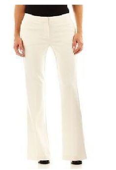 Worthington Womens Pants Modern fit Trouser leg polar bear size 16 NEW 19.99 http://www.ebay.com/itm/-/252519285866?