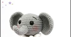 ELEPHANT RATTLE / TEETHER FREE ENGLİSH PATTERN Pattern: @ orguler_dukkan Translate: @samyelidesign MATERİALS: Yarn: Gazzal Bab... Crochet Elephant Pattern Free, Baby Booties Free Pattern, Crochet Toys Patterns, Baby Knitting Patterns, Amigurumi Patterns, Crochet Stitches For Beginners, Crochet Baby Toys, Crochet Accessories, Double Crochet