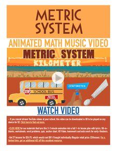 This fun worksheet helps students learn the Metric System. The ...
