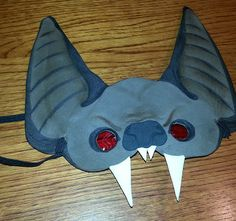 DIY vampire bat costume                                                                                                                                                     More