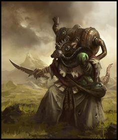 Poisoned Wind Globadier - EA Mythic, © Games Workshop