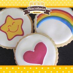 Biscoitos dos ursinhos carinhosos / care Bears cookies!
