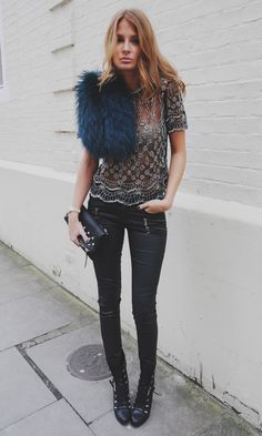 Millie Mackintosh Is Elegant In An Embellished Virgos Lounge Top And An Emerald Stole By Charlotte Simone, 2013