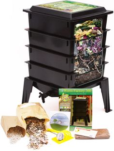 Worm Factory® 360 - Turn your food scraps into worm castings which are a great organic fertilizer.