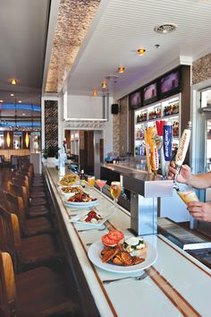 North End American Grill, North Wildwood, NJ by JOSEPH DESIGN LLC - showcased in the Seven Mile Times, July 2012