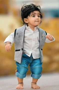 Smart and charming baby boy