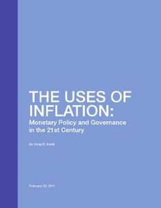 Uses of Inflation
