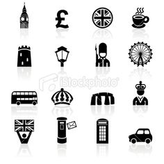 Big Ben, Eye of London, crown, phone booth, Tower