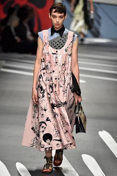 String Dresses, Biker Chicks, & Glamthleisure: A Look At Milan Fashion Week+#refinery29