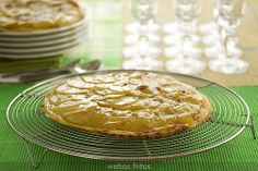 Tarta fina de manzana by webos fritos, via Flickr