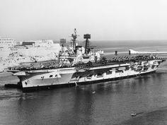 Royal Navy Aircraft Carriers, Hms Ark Royal, Navy Ships, Paris Skyline, Arm, Travel, Viajes, Arms, Destinations