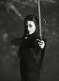 I'm going to miss Allison, but I'm also going to miss the archery part of this show. I always loved seeing all the different bows and styles on Teen Wolf and I hope that doesn't go away entirely with her character.