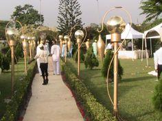 WOW AISLE AT JHALOBIA GARDEN WEDDING VENUE IN LAGOS NIGERIA
