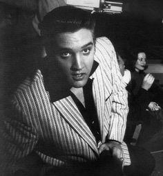 1950s Elvis candid