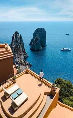 Endless Capri Views From Our Suite At The Iconic