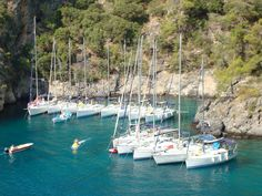 Flotilla Sailing in Turkey, Cold Water Bay with Sunscape Yachting