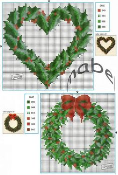 Cross Stitch *<3* Christmas                                                                                                                                                                                 More