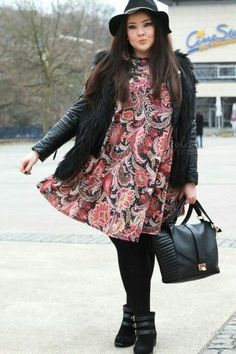 Outfit  plus  size  invierno