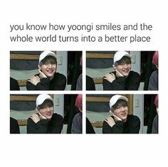 Suga's smile is the cure to the world! bow* (OMG I THOUGHT THE LAST 2 PICTURES WERE SEHUN WTF)