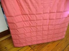 weighted blanket tutorial with free patternalso see pdf pattern here: http://www.fraser.org/tip_sheets/weighted_blanket.pdf and here: http://thesquishypickles.blogspot.com/2011/04/weighted-blanket-tutorial.html