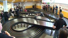 High speed slot car racing is apparently a thing in Finland. Witness this unbelievably fast race at the Rail Car Enthusiasts Club (the race begins at the 0:55 mark). The custom slot cars have a top…