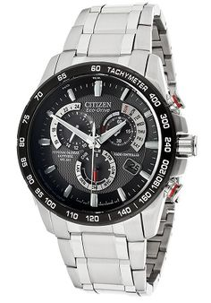men watches Citizen Men's AT4008-51E Eco-Drive Stainless Steel Watch with Gray Dial Citizen Top watches men