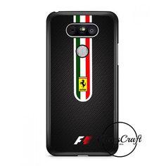 Fernando Alonso F1 Ferarri Scuderia Team Carbon Printed Lg G6 Case | casescraft