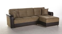 Attrayant Vision Sectional Sofa In Rainbow Dark Beige By Istikbal
