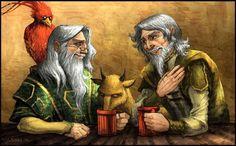 Dumbledore et Abelforth