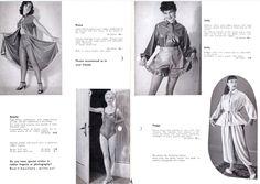 Vintage latex catalog