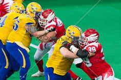 American Football - Lars Bjorkman and Arkadiusz Soberski | © Mariusz Pałczyński / MPAimages.com
