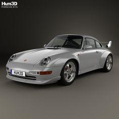 Porsche 911 Carrera GT2 Coupe (993) 1995 3d model from Hum3d.com.