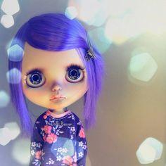 """Ooak art doll custom blythe neo takara """" Opaline """" by K-Dolls Heaven"""