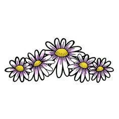 J W F pinterest | Pin My Daisy Chain Tattoo on Pinterest