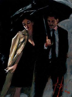 The Train Station Fabian Perez, Jack Vettriano, Romance Art, Illustration Art, Illustrations, Illustration Pictures, Pulp Art, Couple Art, Aesthetic Art