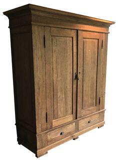 Kabinetskast deng kleh teak Bergen 175cm grote robuuste kabinetskast in te het doorleefde teak deng kleh. Mooie grote deuren en diepe laden en heel veel bergruimte.