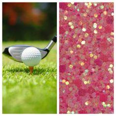 Golf or Glam gender reveal