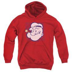 Popeye - Head Youth Pull-Over Hoodie